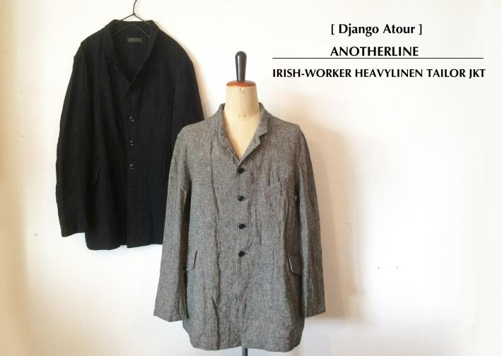 Django Atour / ANOTHERLINE / IRISH-WORKER HEAVYLINEN TAILOR JKT