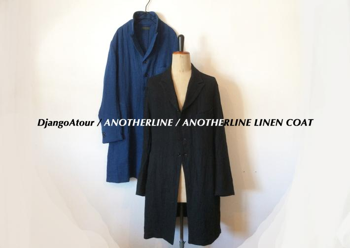 DjangoAtour / ANOTHERLINE / ANOTHERLINE LINEN COAT