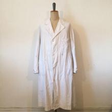 Vintage / 30's France / Cotton Linen Work Coat