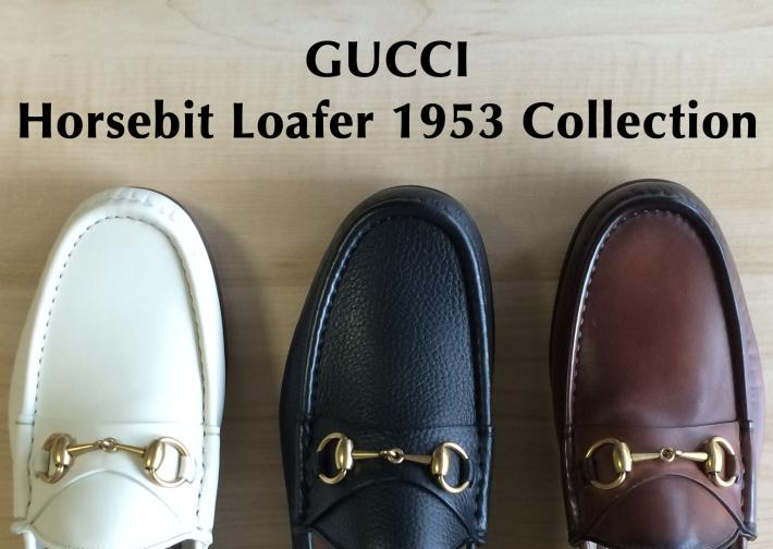 GUCCI Horsebit Loafer Gucci 1953 Collection