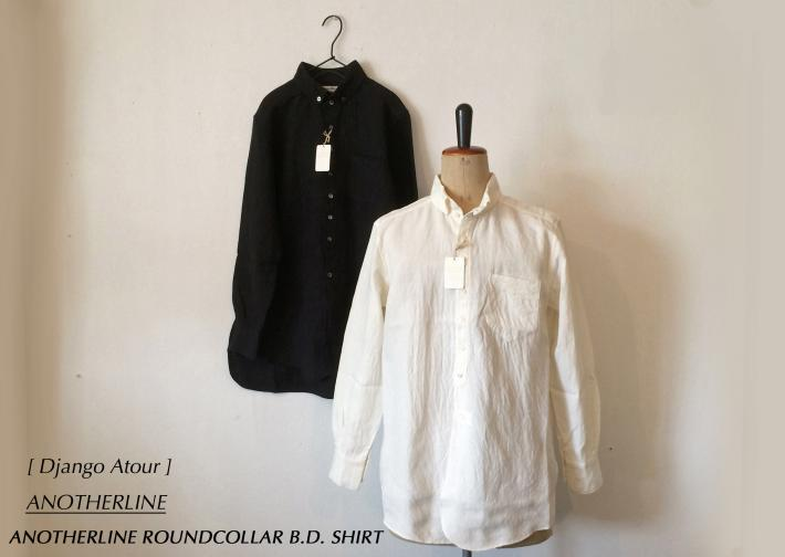 Django Atour/ ANOTHERLINEAL / ANOTHERLINE ROUNDCOLLAR B.D. SHIRT