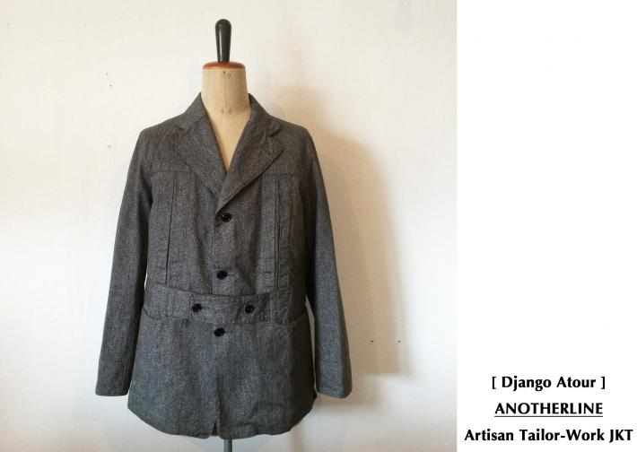 Django Atour / ANOTHERLINE / Artisan Tailor-Work JKT